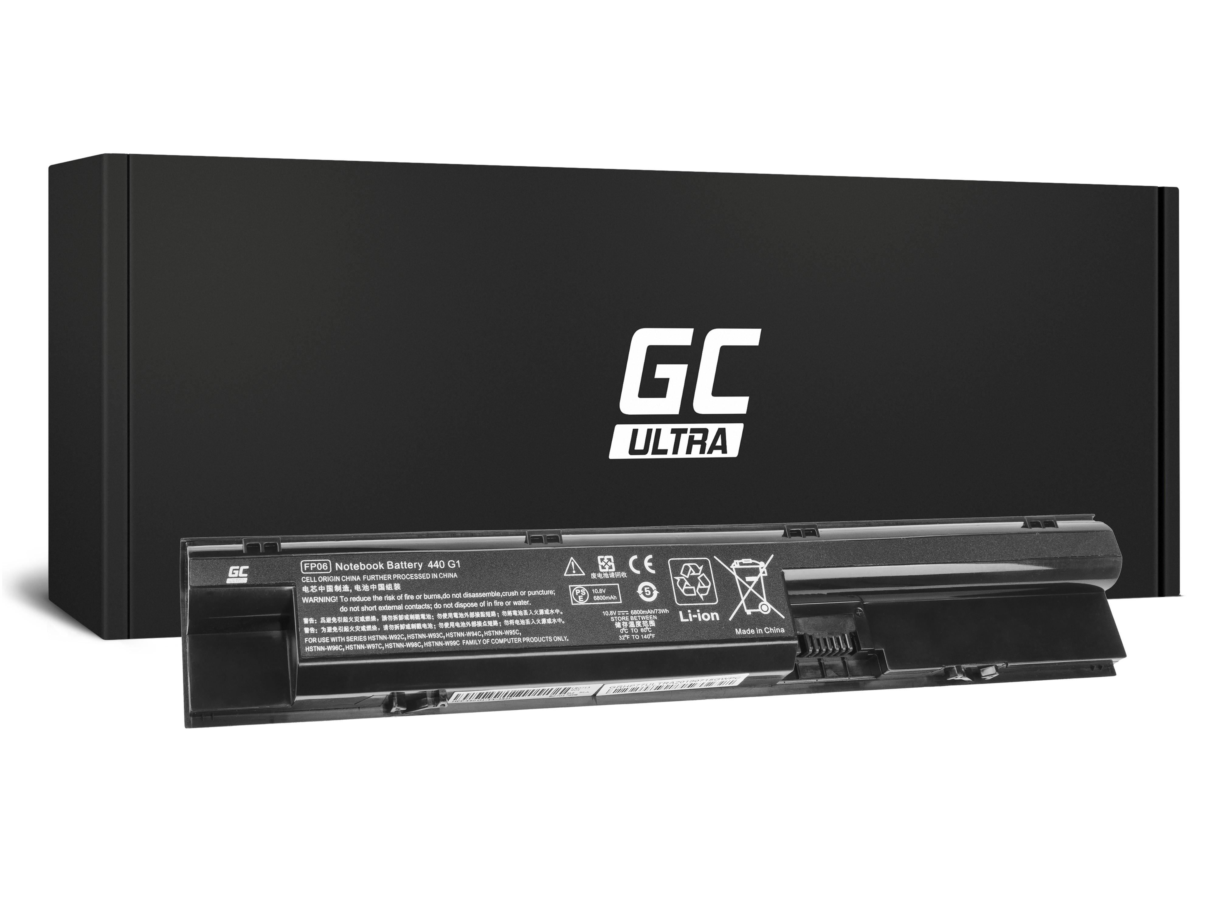 Green Cell HP77ULTRA Baterie HP FP06 HP ProBook 440 445 450 455 470 G0 G1 G2 6800mAh Li-ion - neoriginální