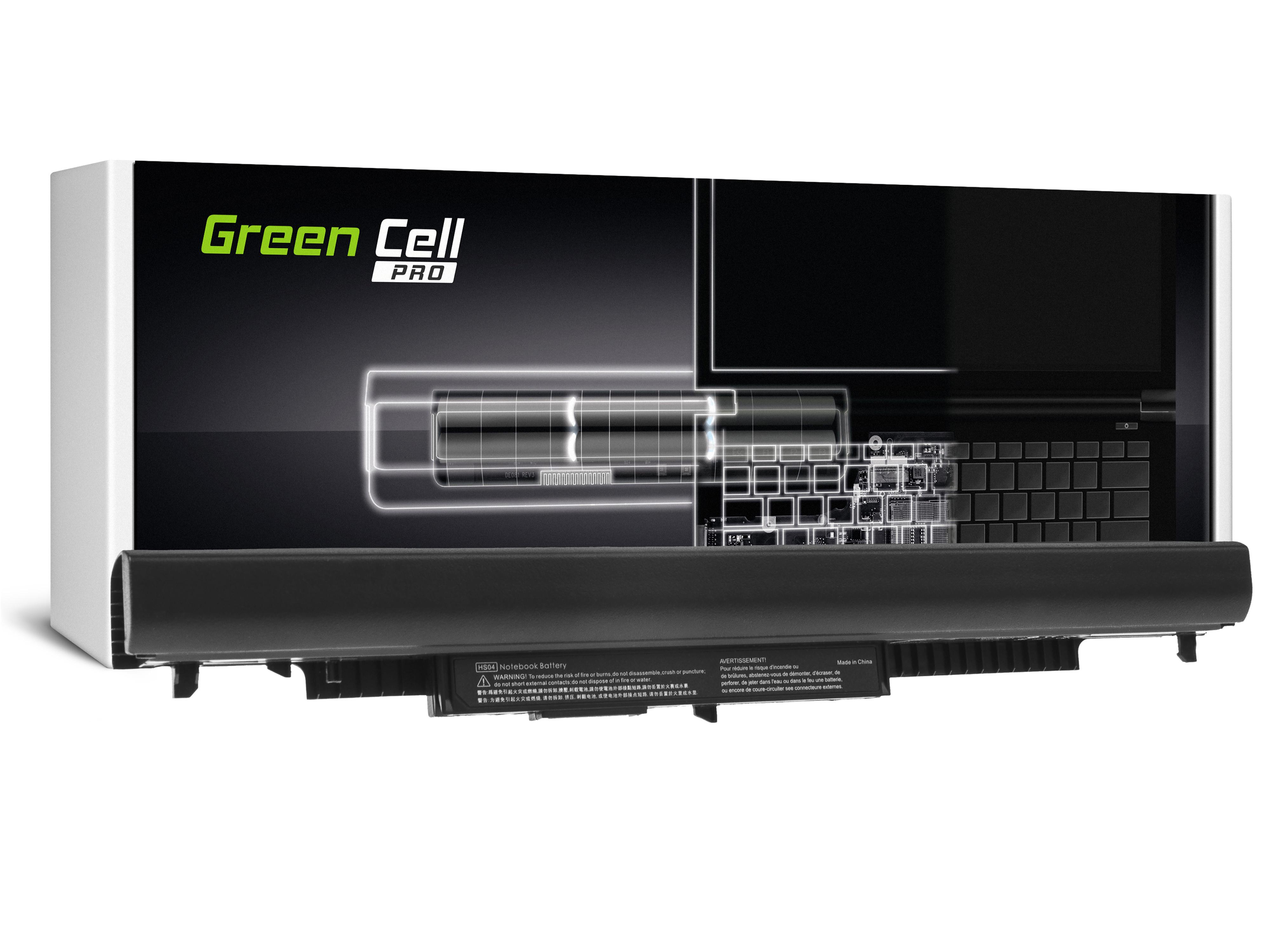 Green Cell HP88PRO Baterie HP HS04 do HP 250 G4 G5 255 G4 G5, HP 15-AC012NW 15-AC013NW 15-AC033NW 15-AC034NW 15-AC153NW 15-AF169NW 2600mAh Li-Ion - neoriginální