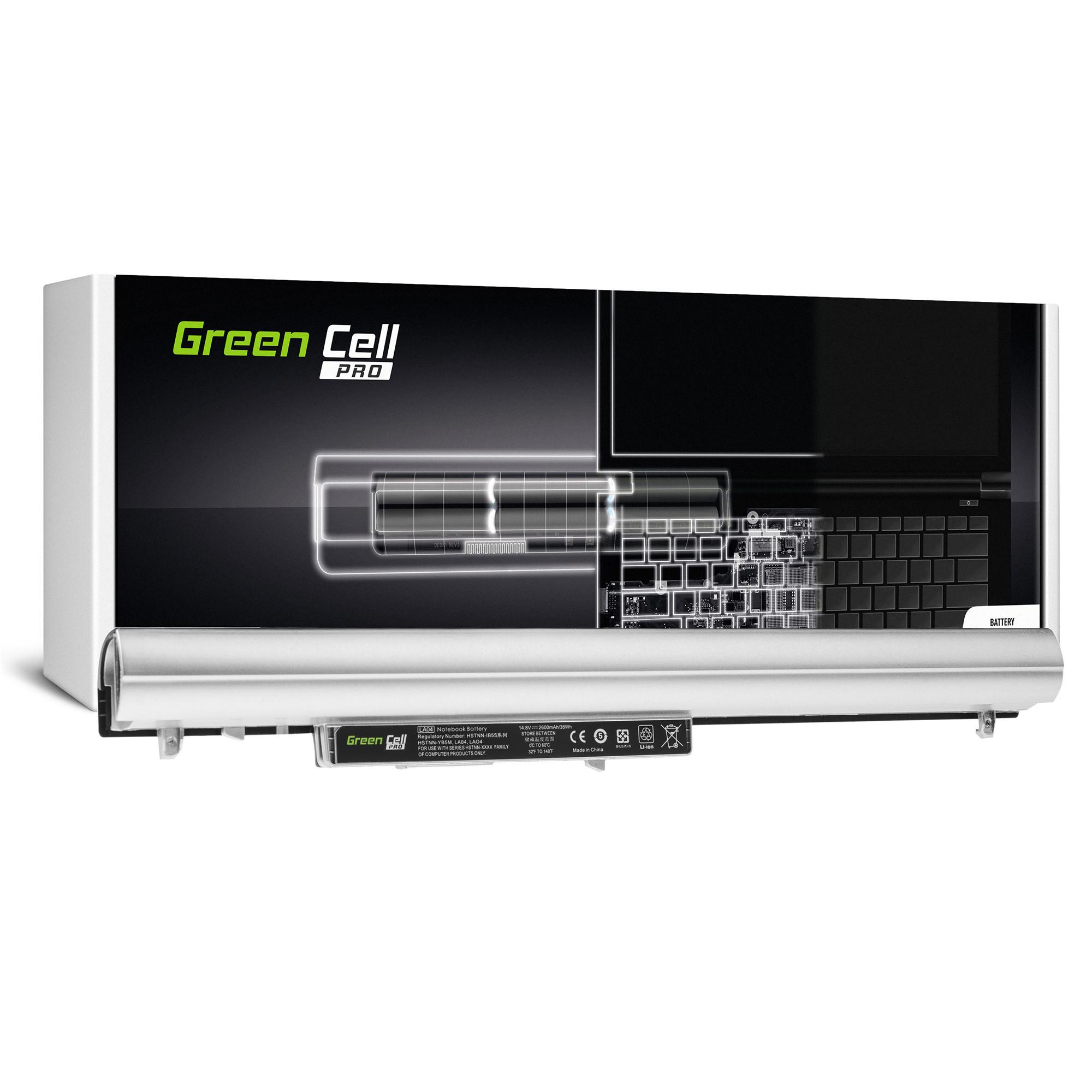 Green Cell HP92PRO Baterie HP LA04 LA04DF, HP Pavilion 15-N 15-N025SW 15-N065SW 15-N070SW 15-N080SW 15-N225SW 15-N230SW 15-N280SW 2600mAh Li-Ion - neoriginální