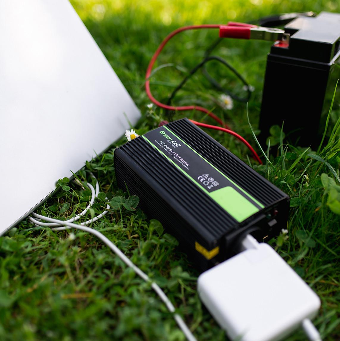 Green Cell ® Voltage Car Inverter 12V to 220V, 2000W/4000W