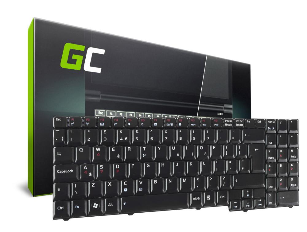Green Cell laptop billentyűzet Asus G50 G70 G71 M50 M70 X57 angol nyelvű