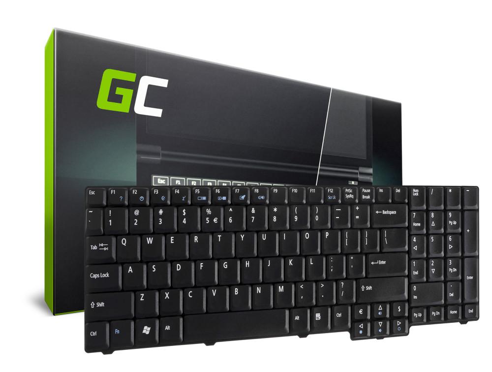 Green Cell laptop billentyűzet Acer Extensa 5235 5635 5635G 5635Z angol nyelvű