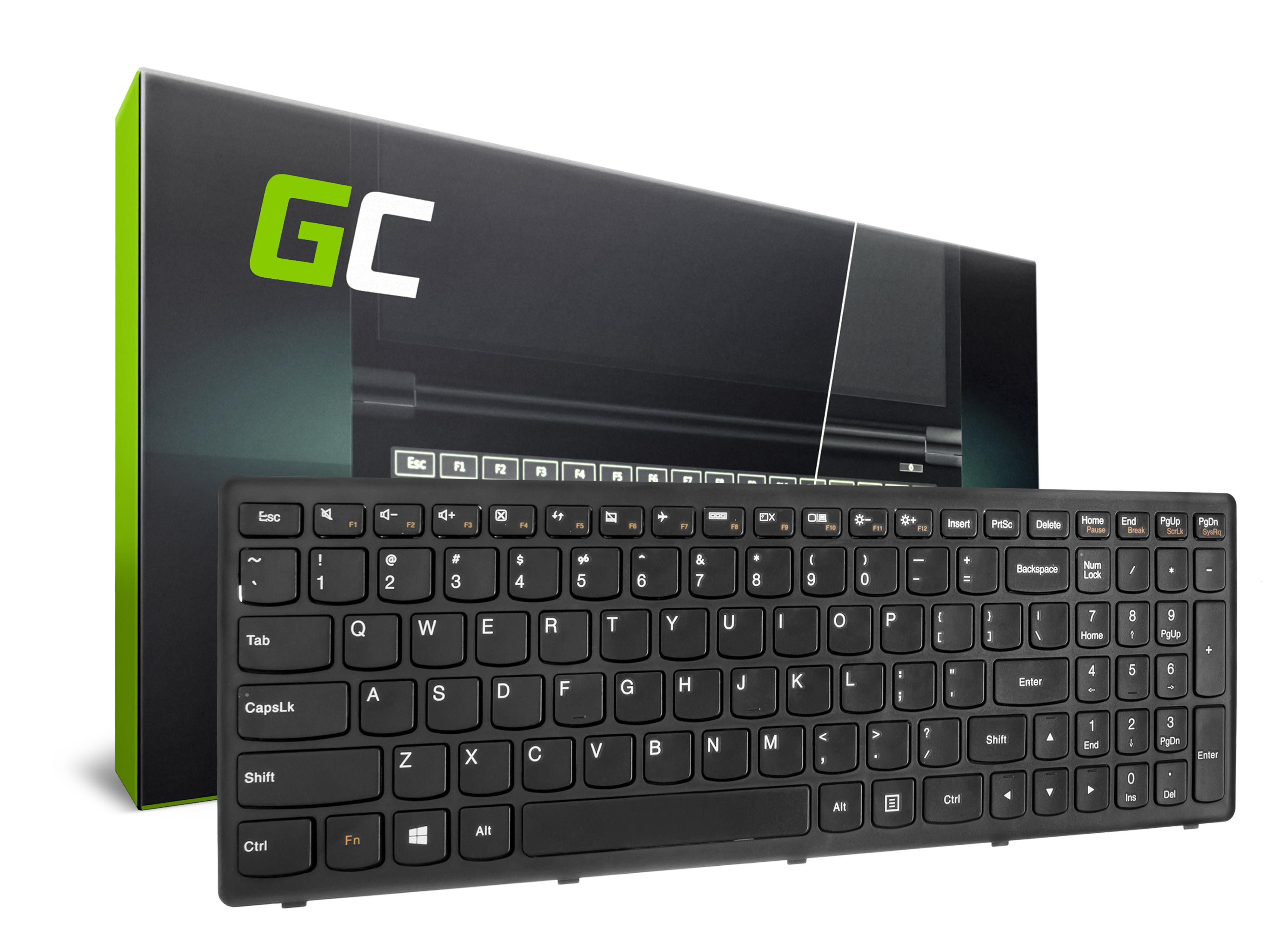 Green Cell ® Keyboard for Laptop Lenovo G500C G500H G500S G505S S500 S510P Z510 Flex 15 15D