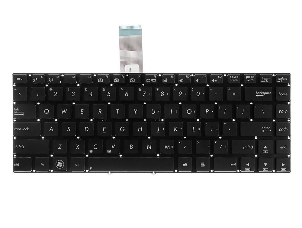 Green Cell laptop billentyűzet Asus U46E U46S U47 K45 K45DR K45V angol nyelvű