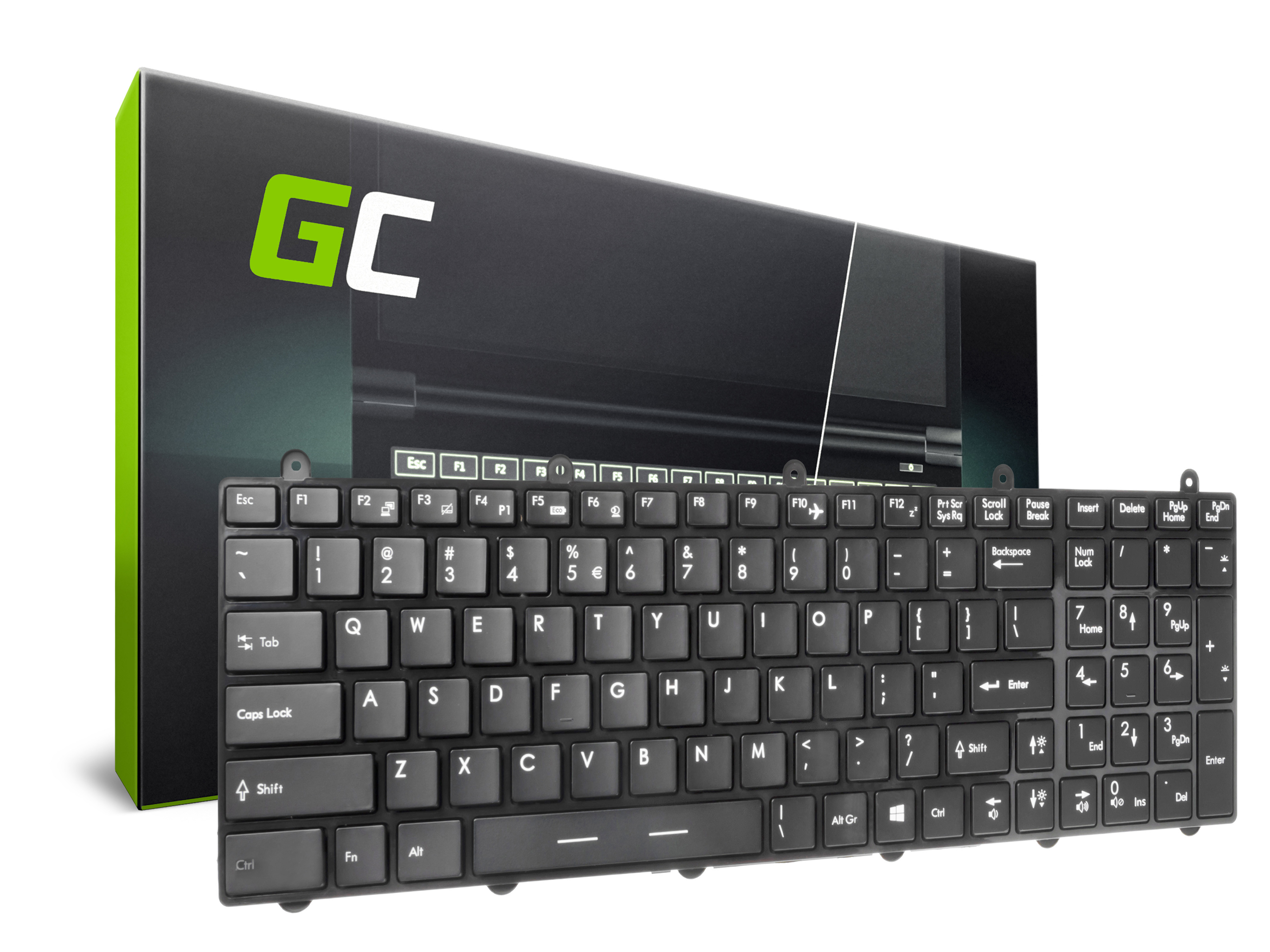 Green Cell Klávesnice pro notebook MSI GE60 GE70 GP60 GP70 GT60 GT70 GT660 GT680 GT683 GT780 GT783 GX70 GX660 s rámečkem