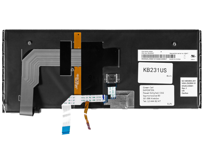 Green Cell Klávesnice pro notebook Lenovo ThinkPad S3 Yoga 14
