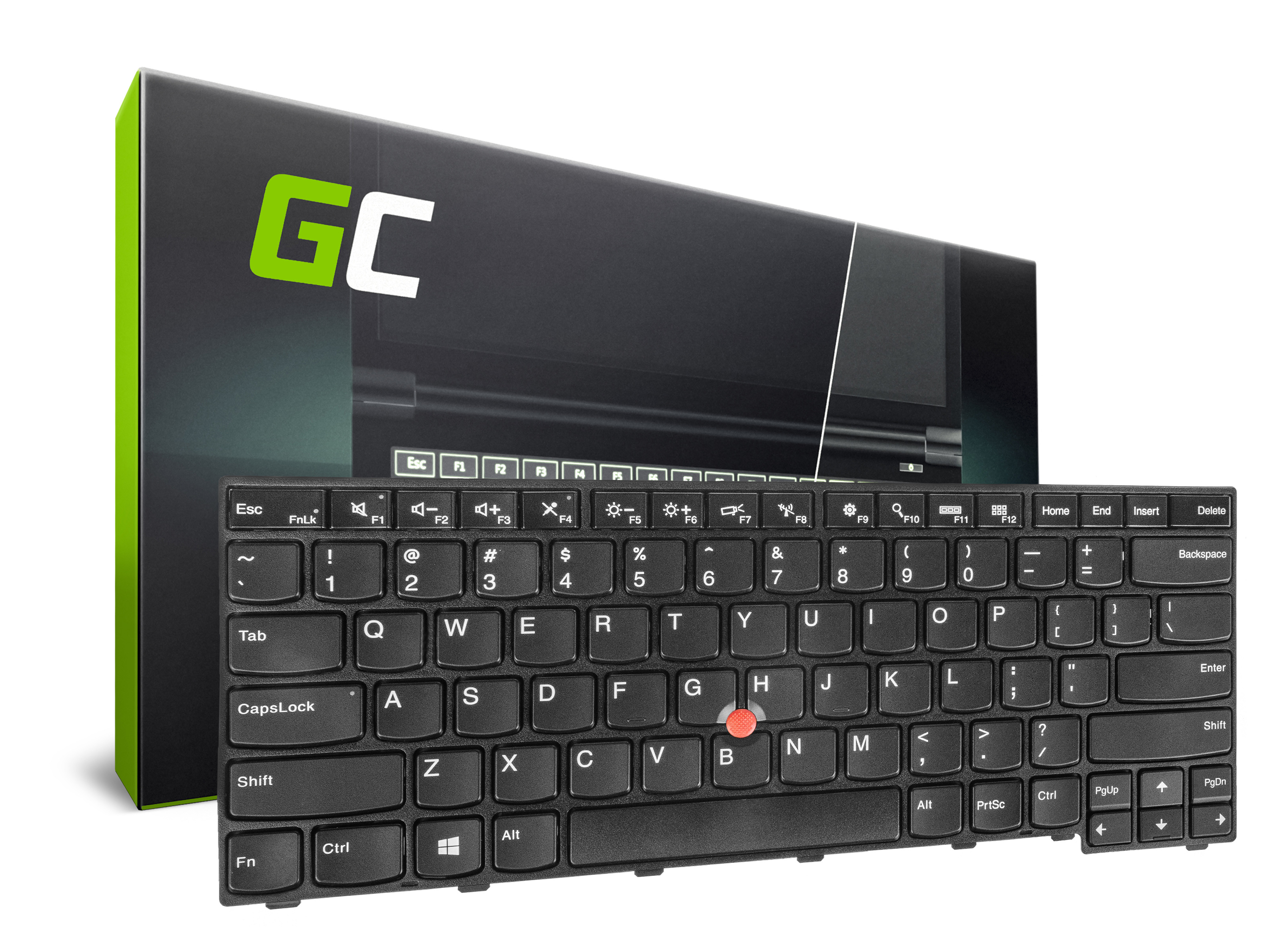 Green Cell Klávesnice pro notebook Lenovo ThinkPad T460 T460P T460S T470 T470P T470S