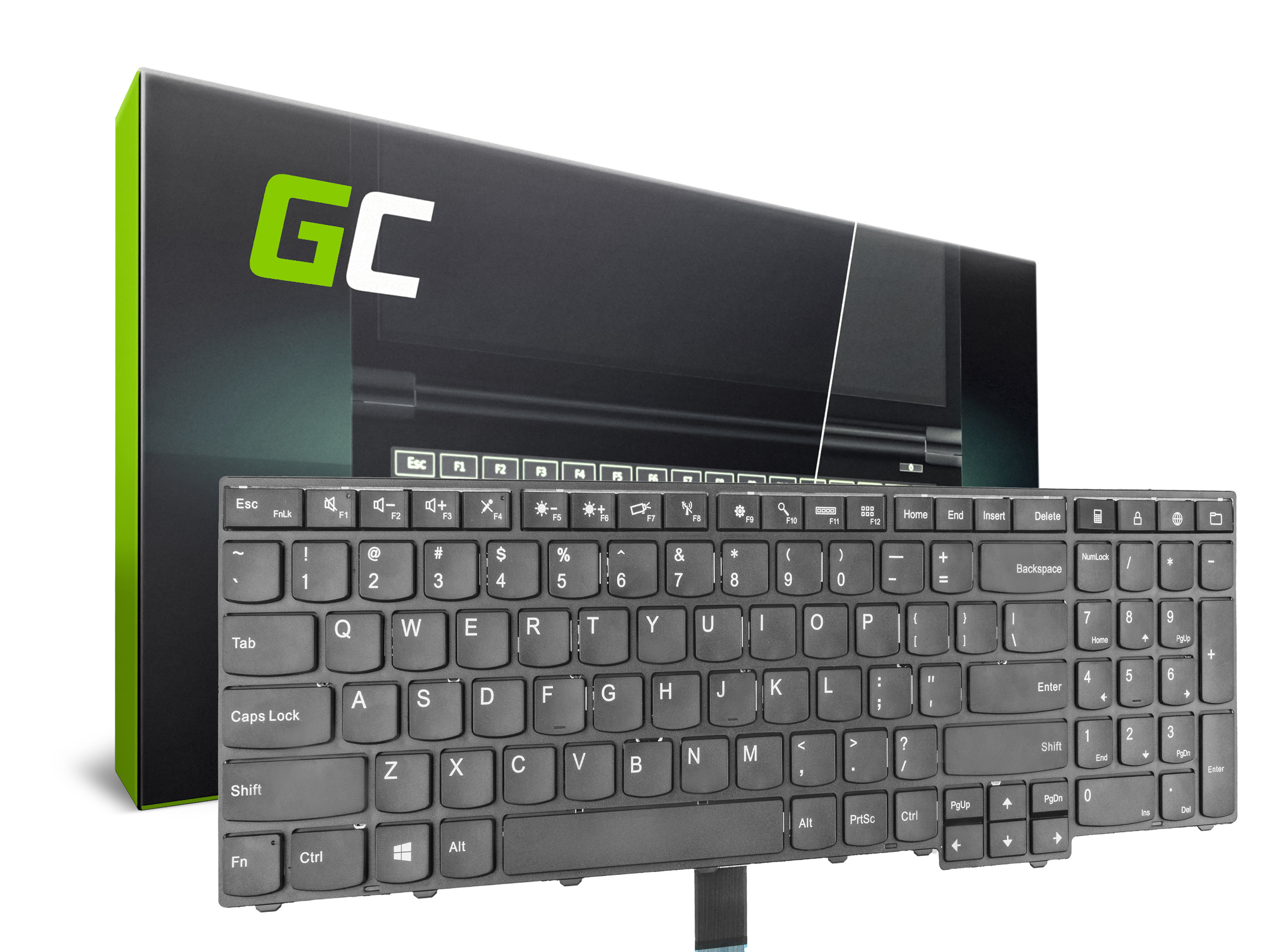 Green Cell Keyboard for Lenovo Thinkpad L540 T540 W540 Edge E531 E540