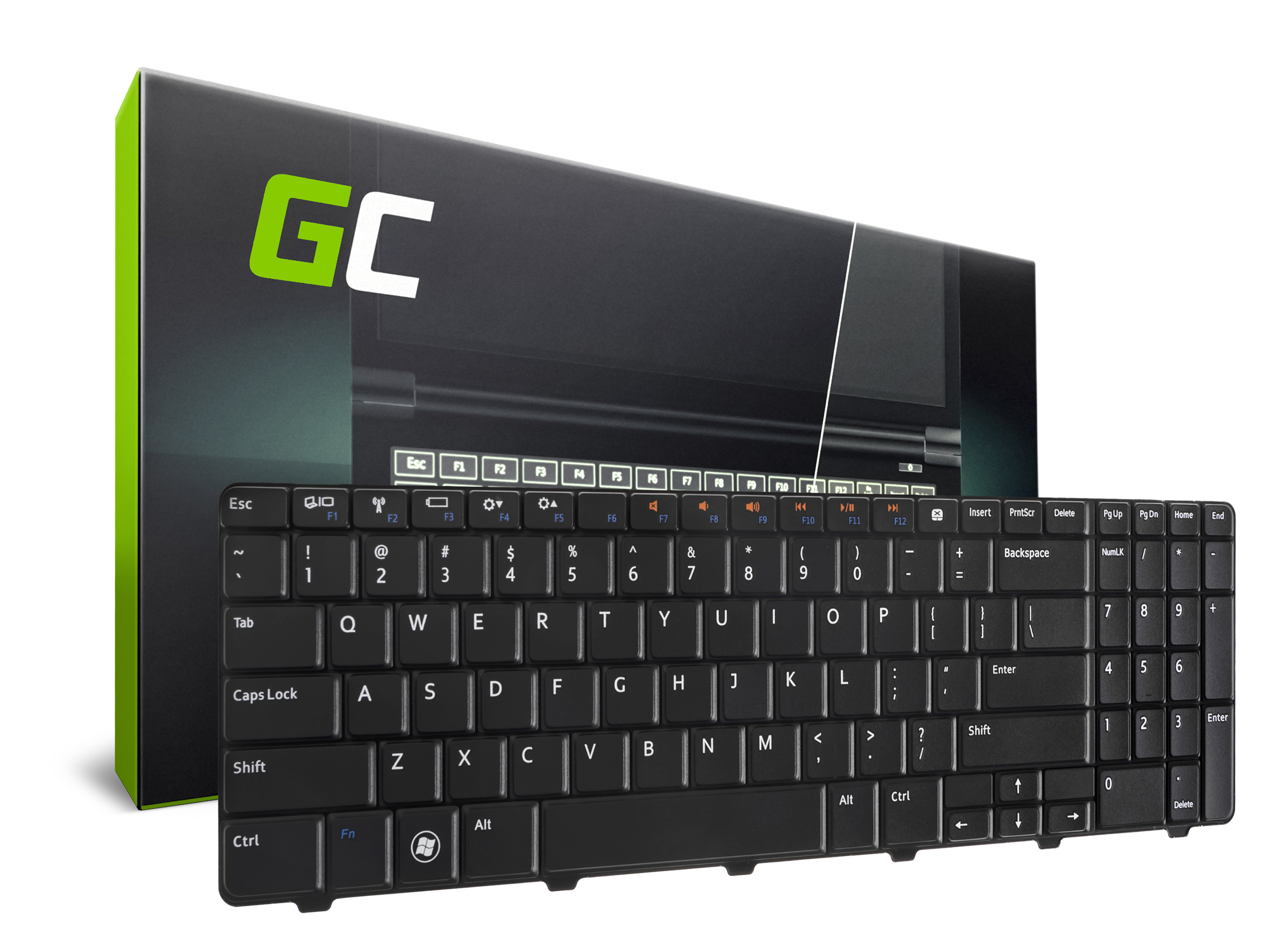 Green Cell Klávesnice pro notebook Dell Inspiron 15R 5010 N5010 M5010