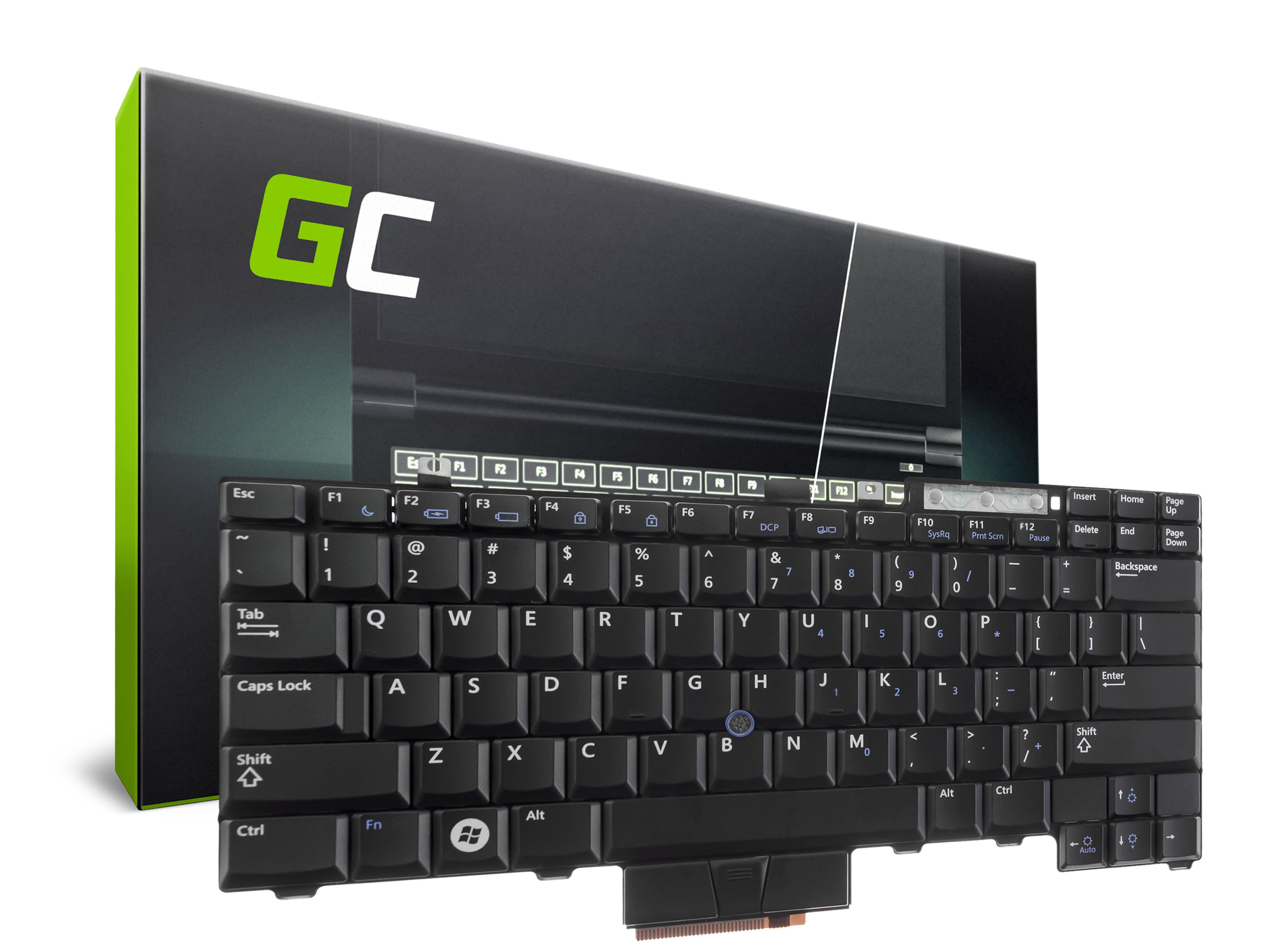 Green Cell Klávesnice pro notebook Dell Latitude E6400 E6510 E5400 M2400 M4400