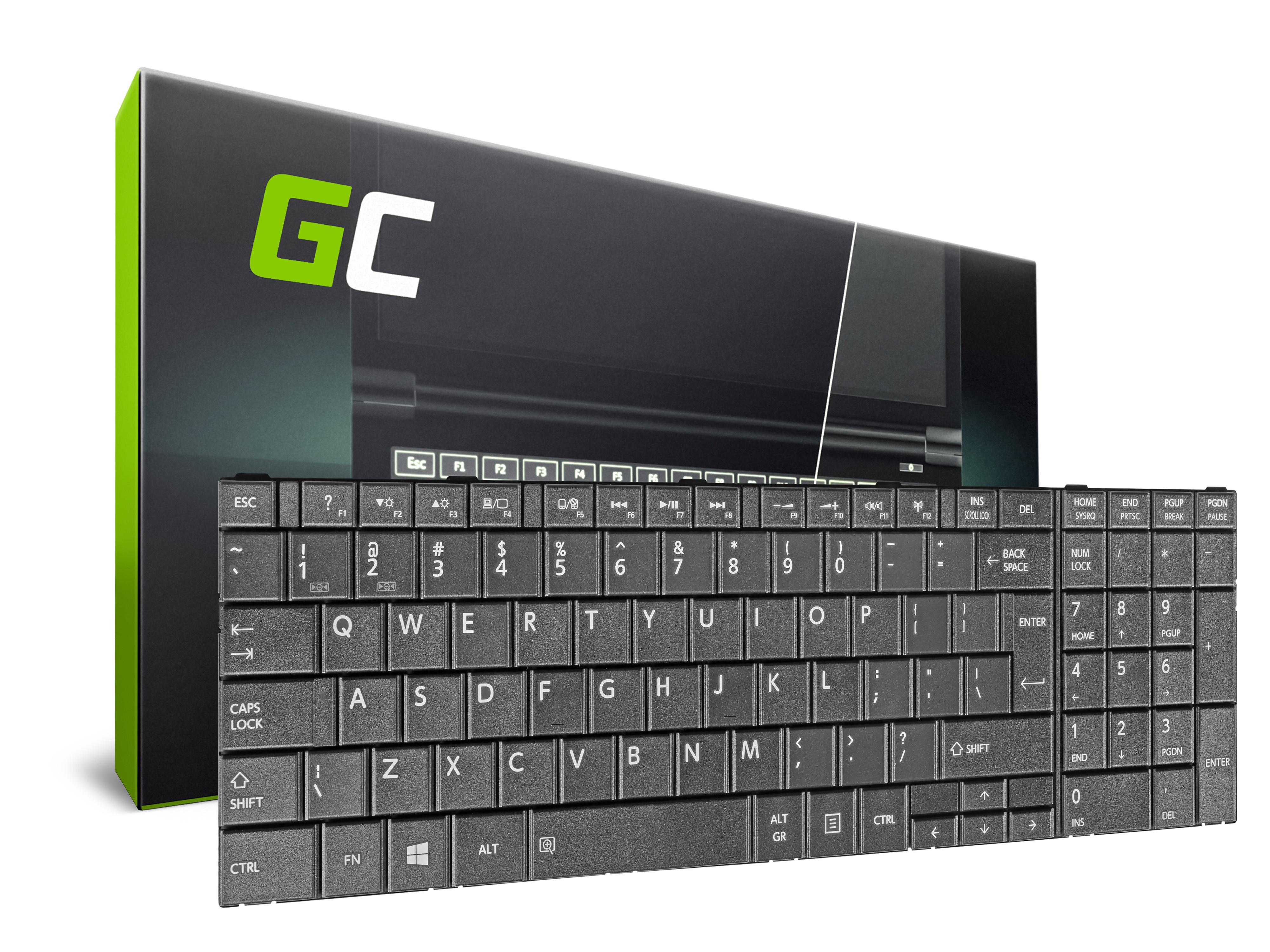 Green Cell Klávesnice pro notebook Toshiba Satellite C50 C50D C55