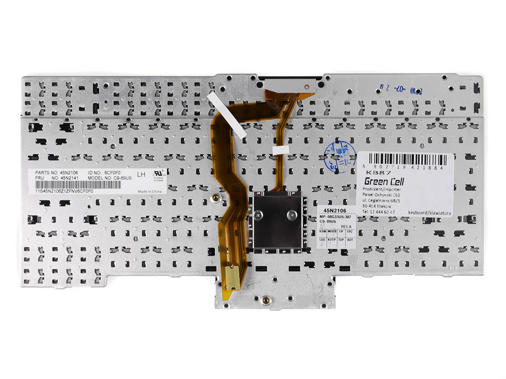 Keyboard for Lenovo ThinkPad T410 T420 T510 T520