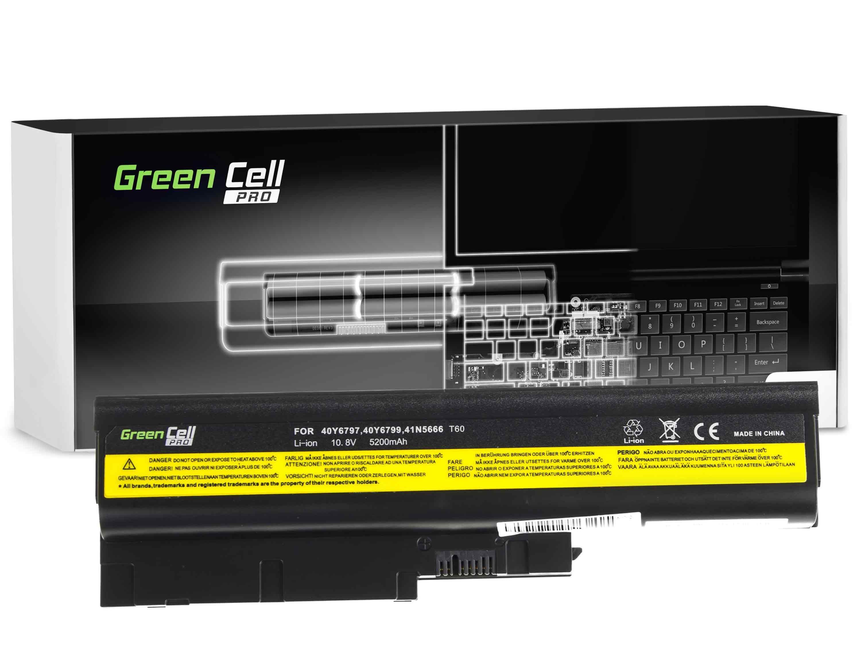 Green Cell LE01PRO Baterie Lenovo IBM Thinkpad R500 SL400 SL500 42T4511 5200mAh Li-ion - neoriginální