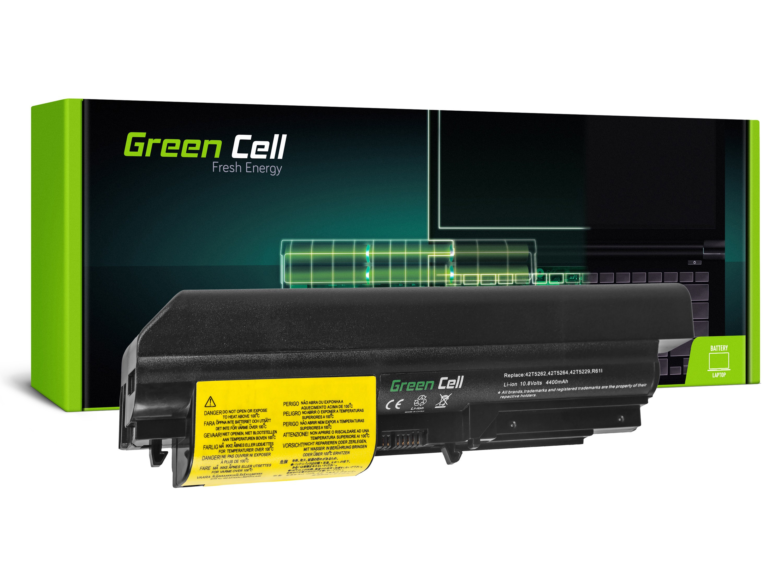 Green Cell LE03 Baterie IBM Lenovo ThinkPad T61 R61 T400 R400 4400mAh Li-ion - neoriginální