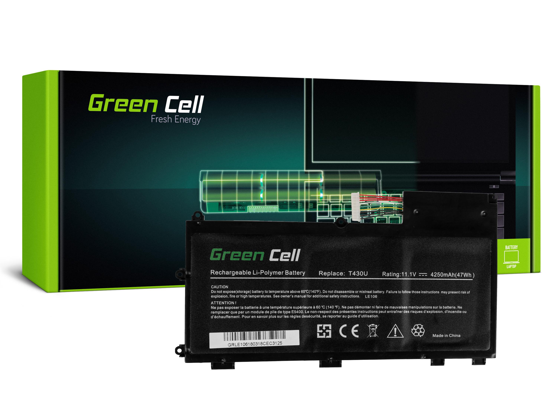 Green Cell LE106 Baterie Lenovo L11N3P51 L11S3P51 L12L3P51 Lenovo ThinkPad T430u 4250mAh Li-Pol – neoriginální