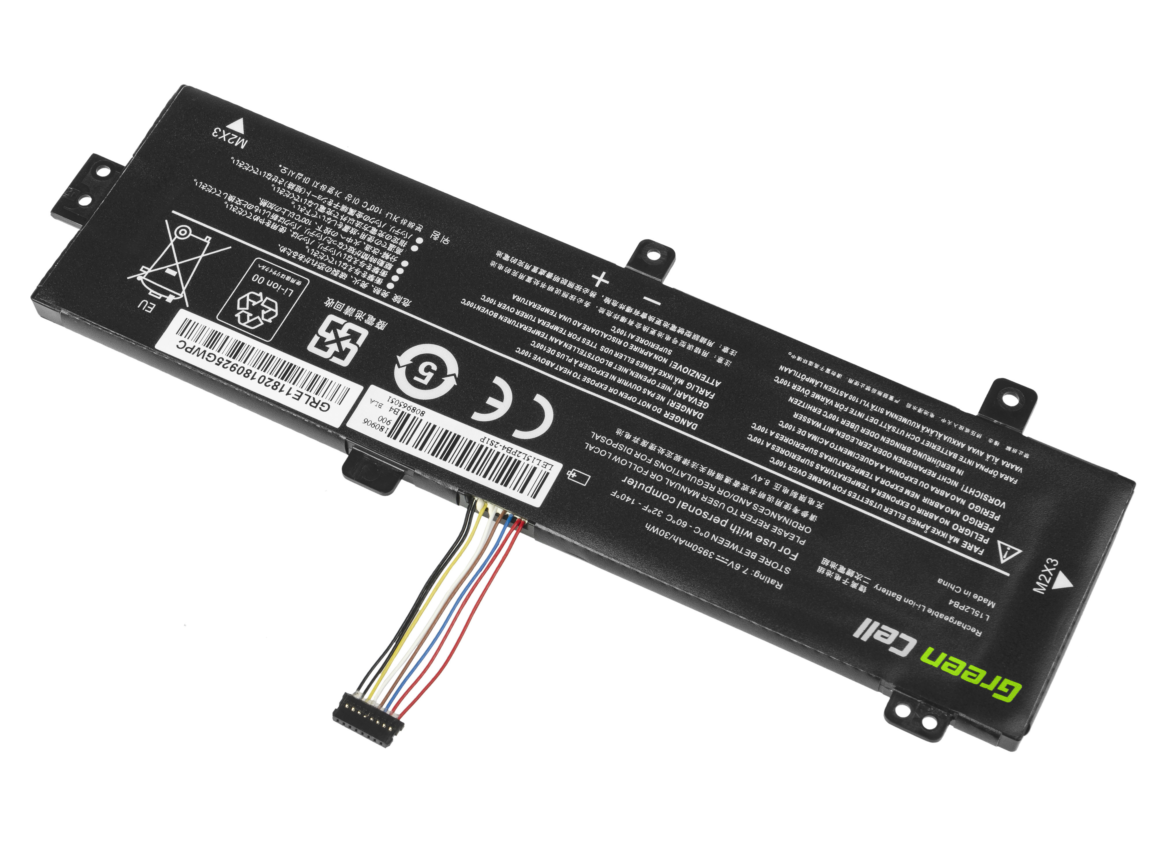 Green Cell LE118 Baterie Lenovo L15C2PB3 L15L2PB4 L15S2TB0 Lenovo Ideapad 310 510 3500mAh Li-Pol – neoriginální