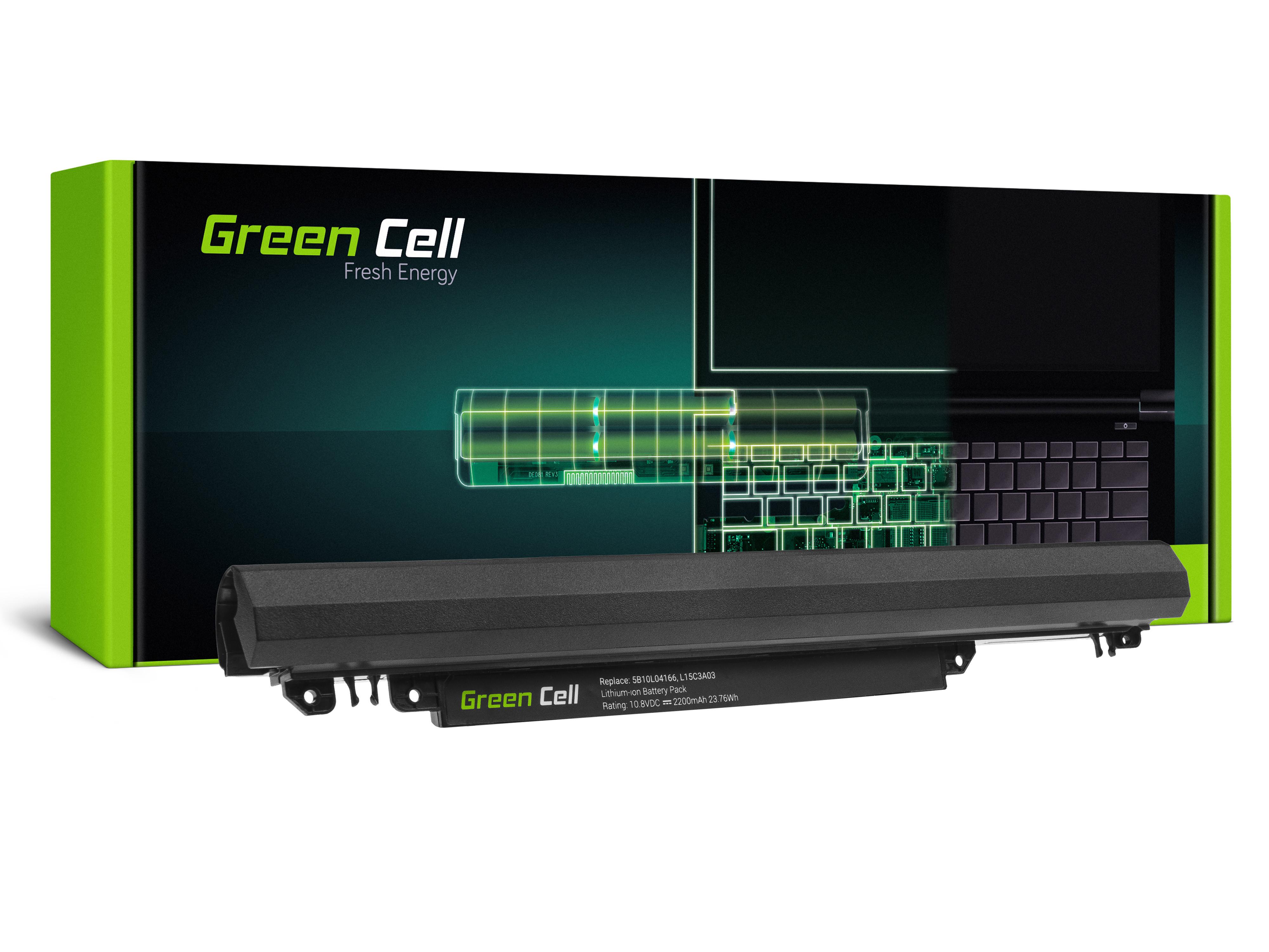Green Cell Baterie pro Lenovo IdeaPad 110-14IBR 110-15ACL 110-15AST 110-15IBR / 11,1V 2200mAh
