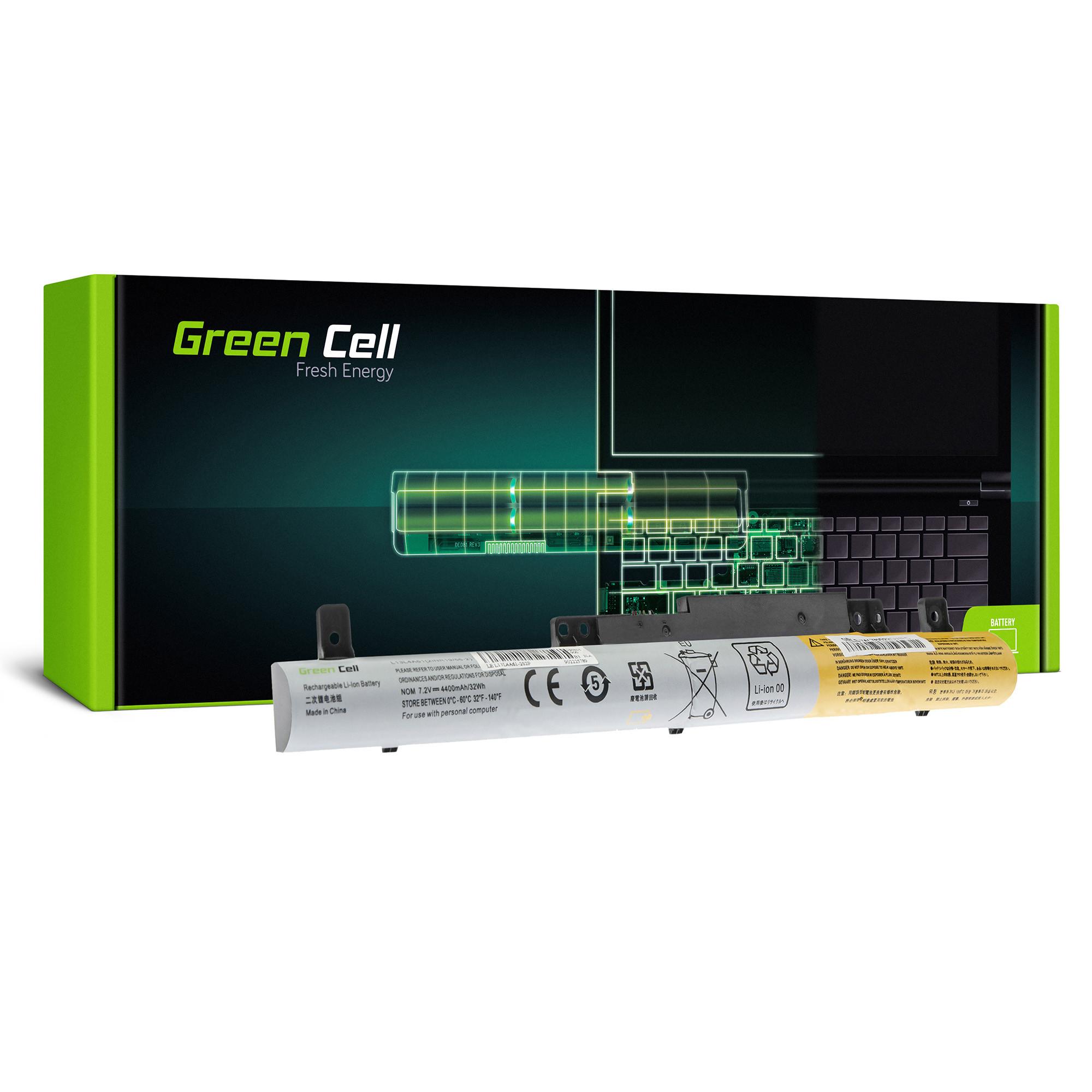 Green Cell LE127 Baterie Lenovo L13L4A61 L13L4E61 L13M4A61 L13S4A61 Lenovo Flex 2: 14 14D 15 15D 4400mAh Li-ion - neoriginální
