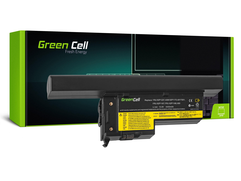 Green Cell Baterie pro Lenovo ThinkPad X60 X60s X61 X61s / 14,4V 4400mAh