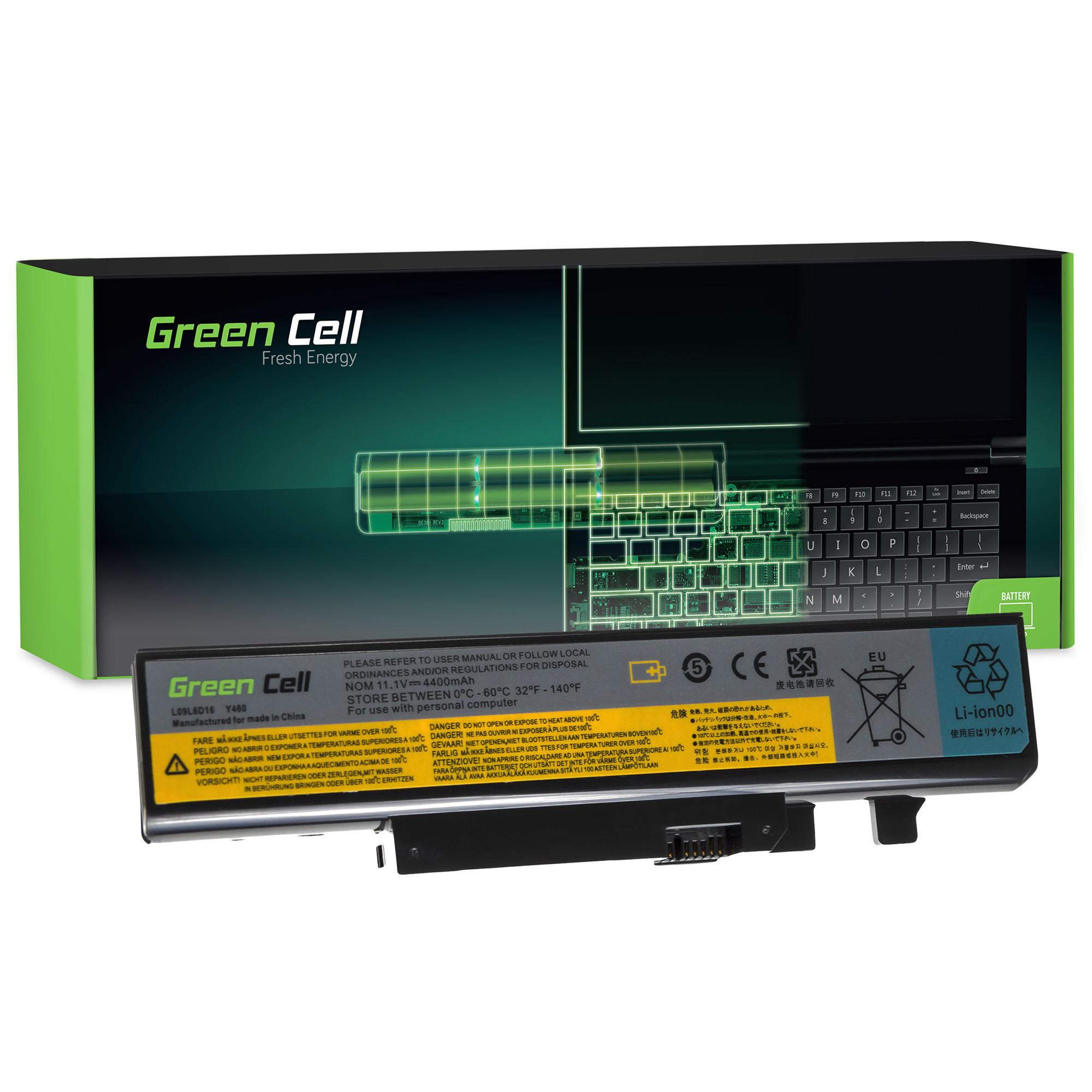 Green Cell LE20 Baterie Lenovo IBM Y460 Y560 4400mAh Li-ion - neoriginální