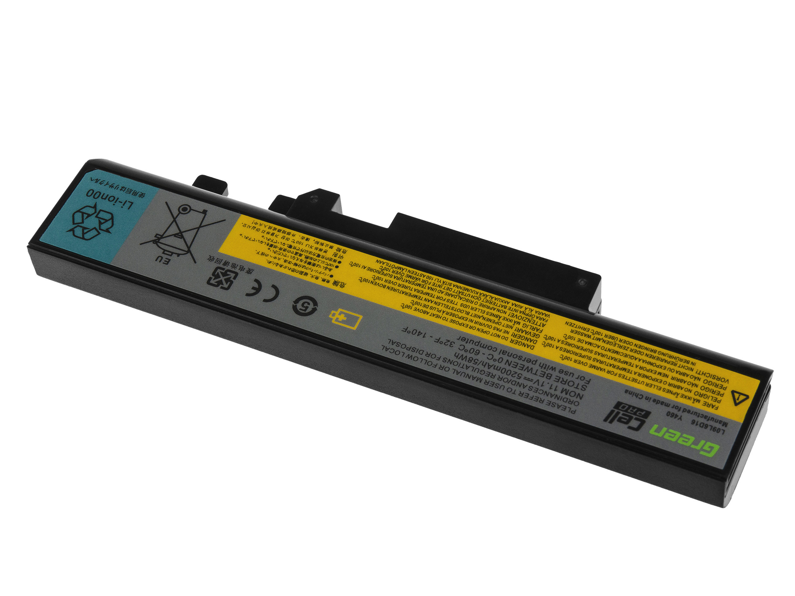 Green Cell PRO Baterie pro Lenovo IdeaPad B560 Y460 Y560 V560 Y560p Y560a / 11,1V 5200mAh