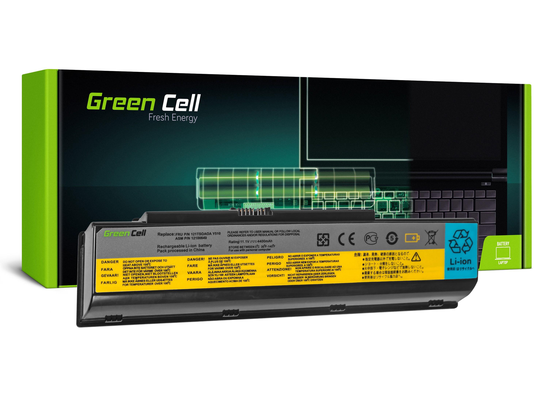 Green Cell Baterie pro Lenovo IdeaPad Y510 Y530 Y710 Y730 / 11,1V 4400mAh