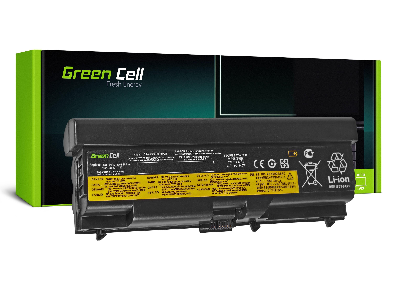 Green Cell Battery for Lenovo ThinkPad T410 T420 T510 T520 W510 / 11,1V 6600mAh