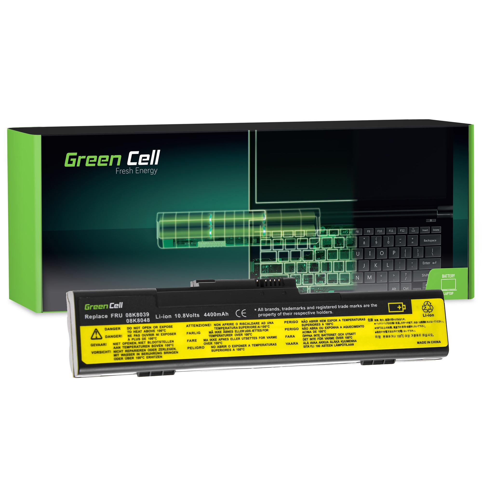 Green Cell Baterie pro Lenovo ThinkPad X30 X31 X32 / 11,1V 6600mAh