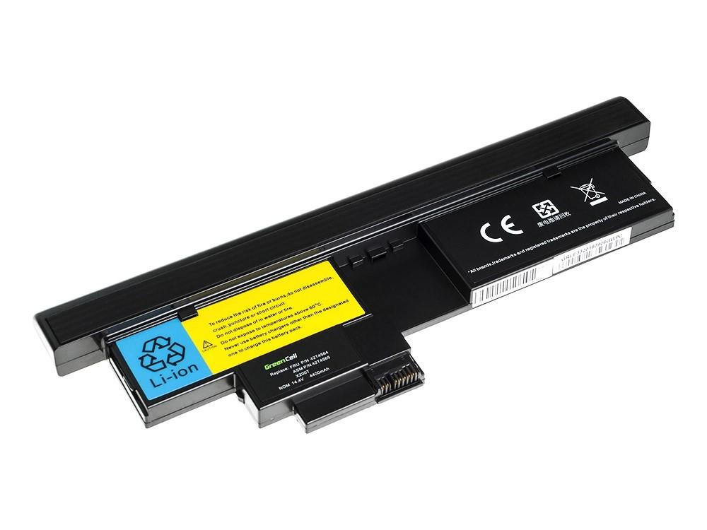 Green Cell LE33 Baterie IBM Lenovo ThinkPad Tablet X200 X201 4400mAh Li-ion - neoriginální