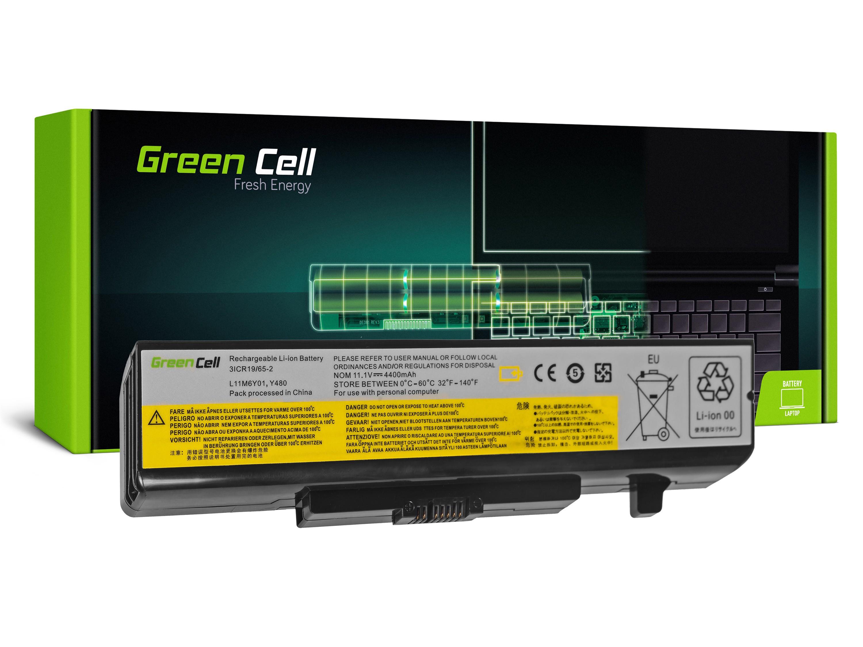 Green Cell LE34 Baterie Lenovo G400,G405,G410,G480,G485,G486,G500,G505,G510,G580,G585,G700,G710,G780 4400mAh Li-ion - neoriginální