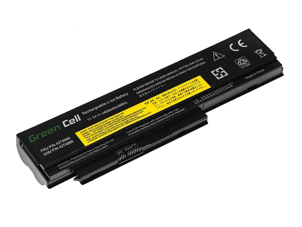 Green Cell LE35 Baterie Lenovo IBM Thinkpad X220 X220i X220s 42T4866 42T4901 4400mAh Li-ion - neoriginální