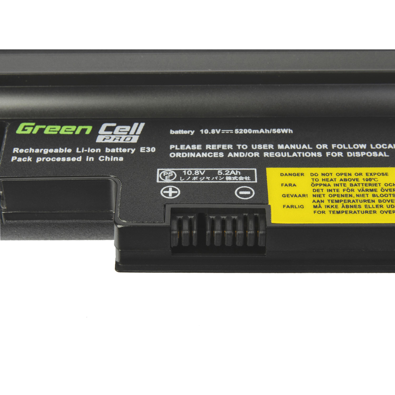 Green Cell Laptop Baterie Baterie PRO 42T4813 42T4814 pro Lenovo ThinkPad Edge E30