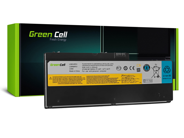Green Cell LE42 Baterie IBM Lenovo IdeaPad U350 U350W 2200mAh Li-ion - neoriginální