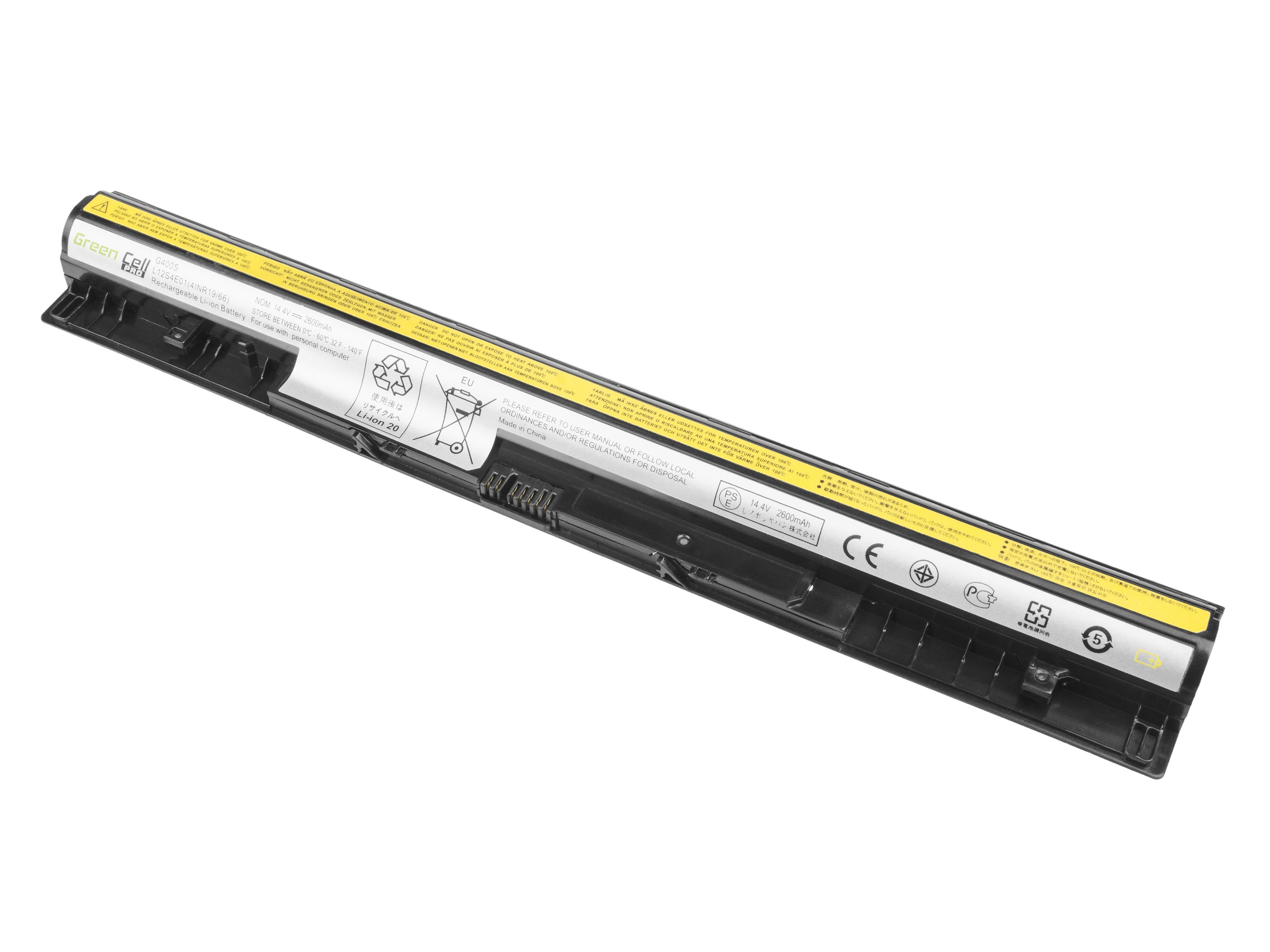 Green Cell PRO Baterie pro Lenovo Essential G400s G405s G500s / 14,4V 2600mAh