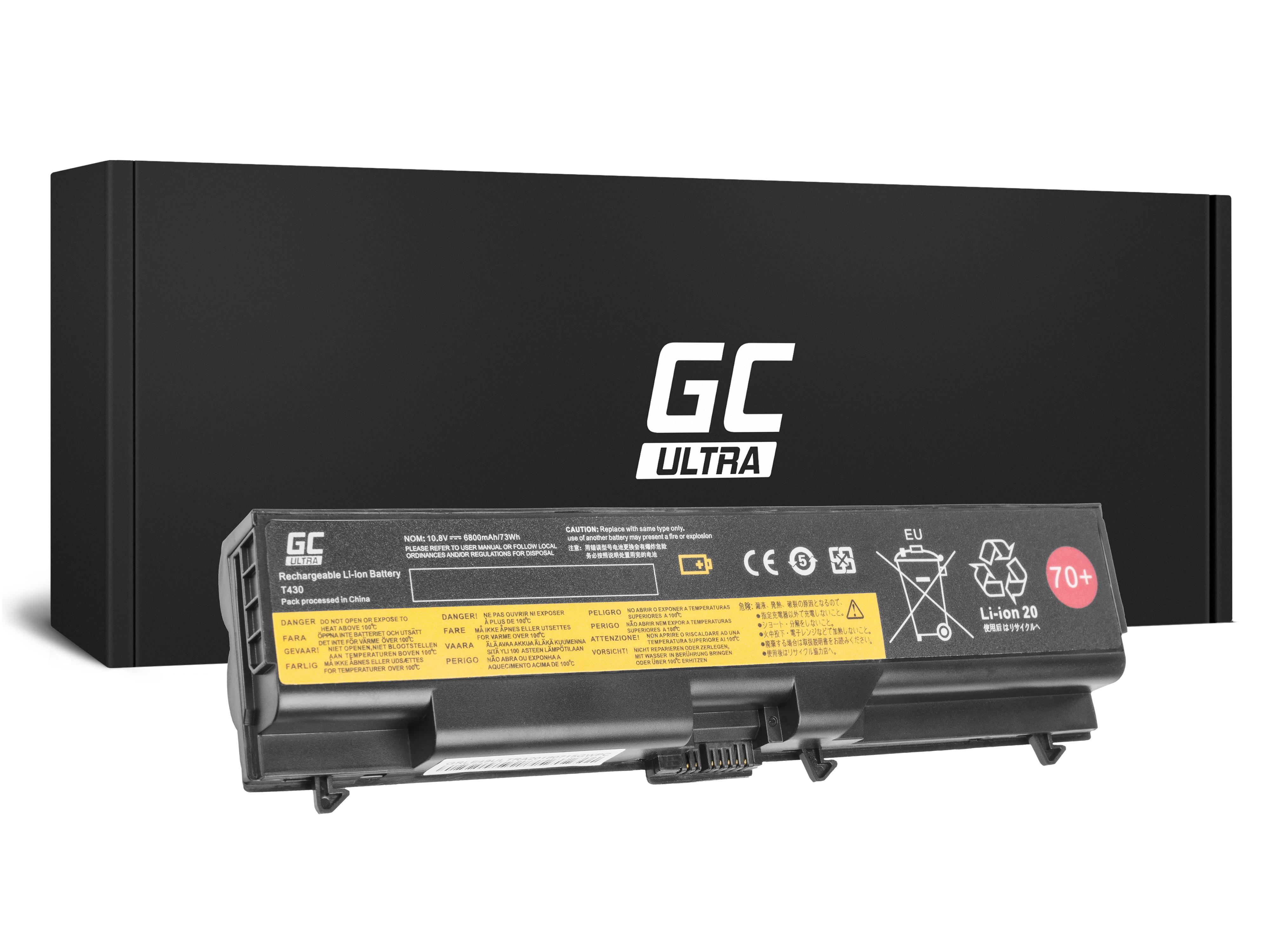 Green Cell LE49ULTRA Baterie Lenovo 45N1001 Lenovo ThinkPad L430 T430i L530 T430 T530 T530i 6800mAh Li-ion - neoriginální