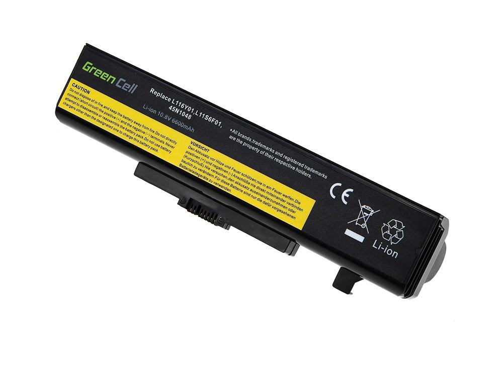 Green Cell Battery for Lenovo Y480 V480 Y580 / 11,1V 6600mAh