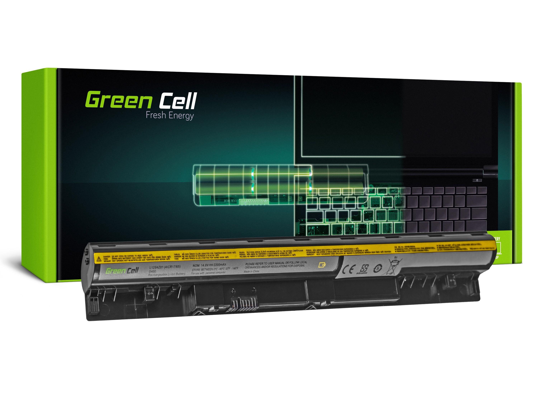 Green Cell Battery for Lenovo IdeaPad S300 S310 S400 S400U S405 S410 S415 (black) / 14,4V 2200mAh