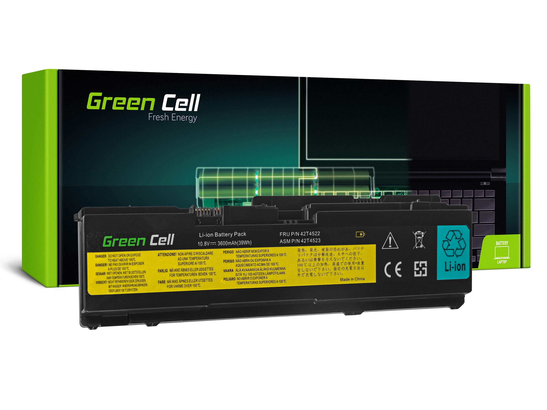 Green Cell LE68 Baterie IBM Lenovo ThinkPad X300 X301 3600mAh Li-ion - neoriginální