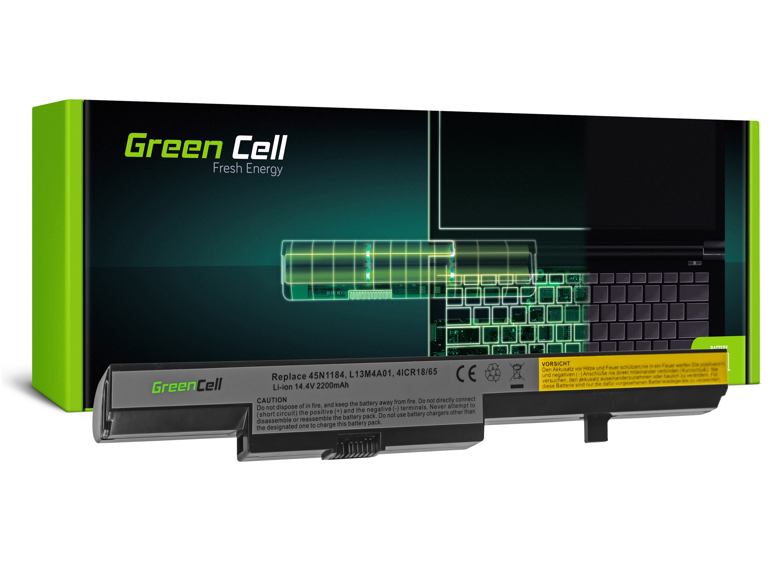 Green Cell LE69 Baterie Lenovo L13S4A01 pro Lenovo B40 B50 G550s N40 N50 2200mAh Li-ion - neoriginální