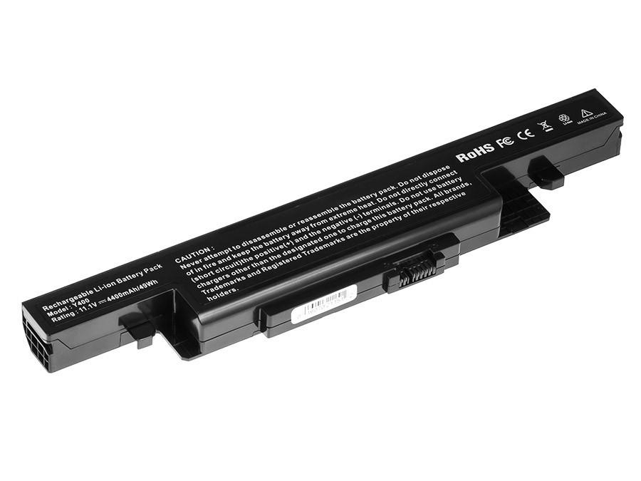 Green Cell LE73 Baterie Lenovo IdeaPad Y400 Y410 Y490 Y500 Y510 Y590 4400mAh Li-ion - neoriginální