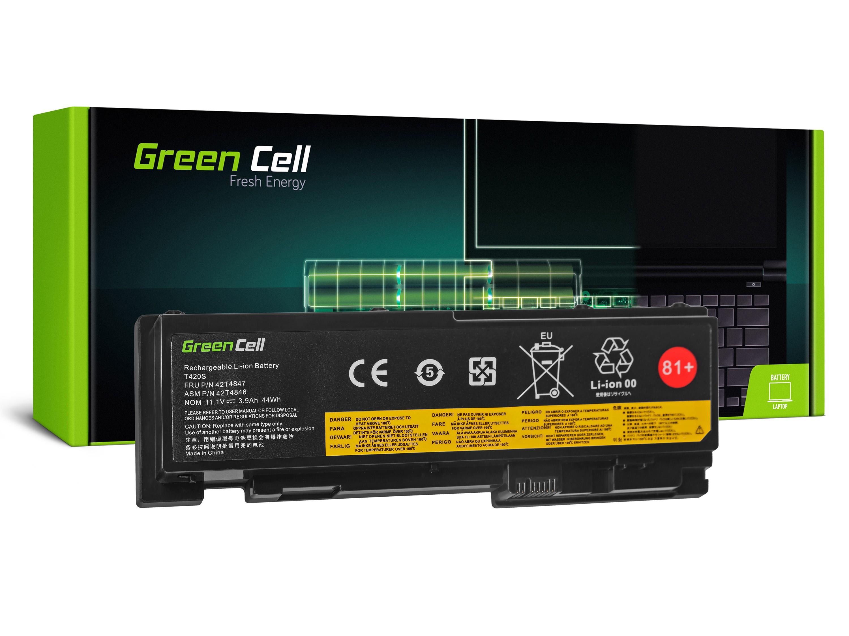 Green Cell LE78 Baterie Lenovo ThinkPad T420s T420si 3600mAh Li-Pol – neoriginální
