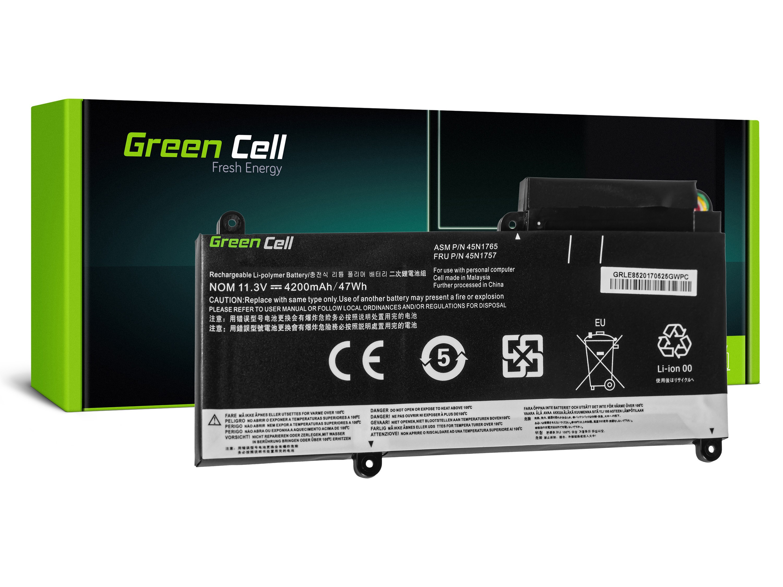 Green Cell LE85 Baterie Lenovo ThinkPad E450 E450c E455 E460 E465 4200mAh Li-Pol – neoriginální