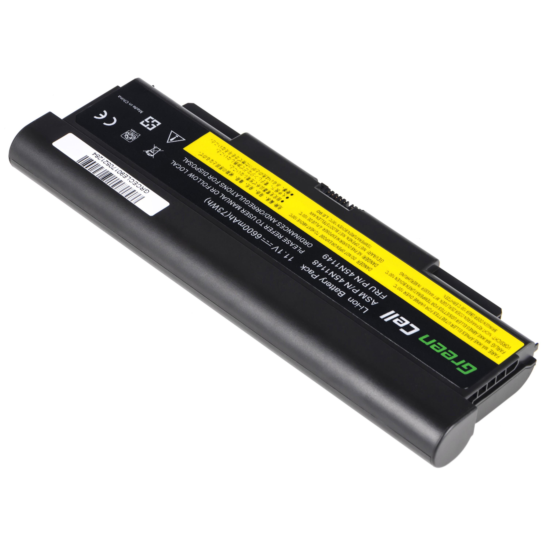 Green Cell LE90 Baterie Lenovo ThinkPad T440P T540P W540 W541 L440 L540 6600mAh Li-ion - neoriginální