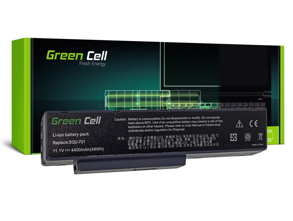 Green Cell akku Packard Bell EASYNOTE MB55 MB85 MH35 MH45 MH88 MV / V / 11,1V 4400mAh