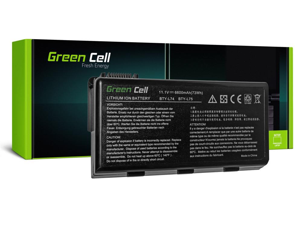 Green Cell akkumulátor MSI A6000 CR500 CR600 CR700 CX500 CX600 / 11,1V 6600mAh
