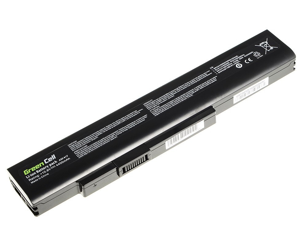 Green Cell Baterie pro MSI A6400 CR640 CX640 MS-16Y1 / 11,1V 4400mAh