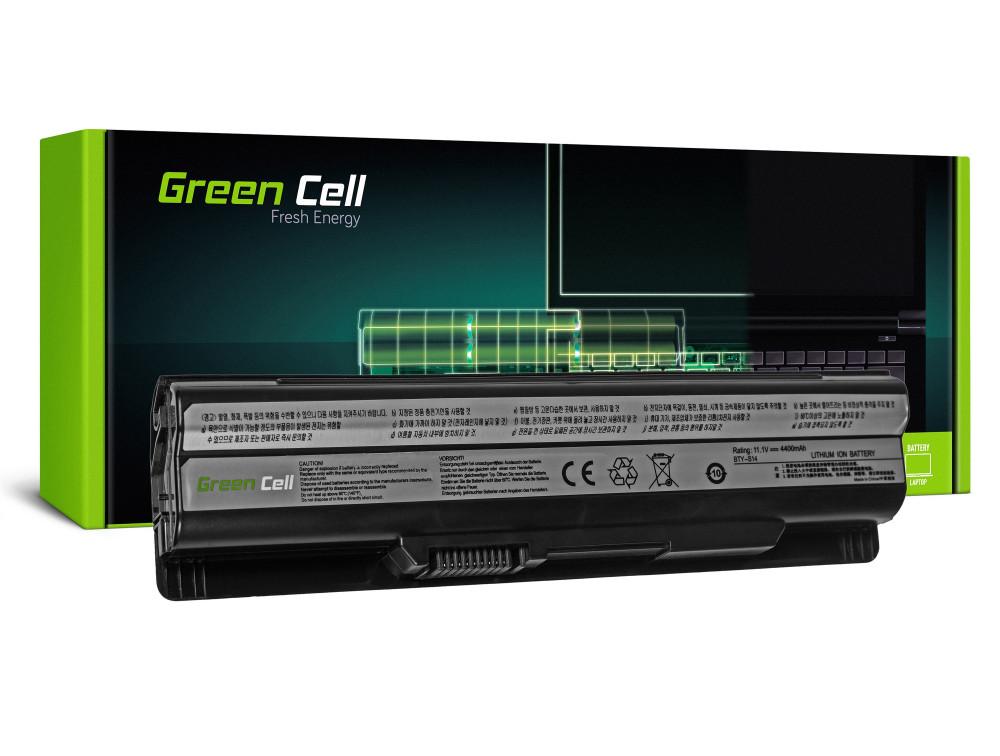 Green Cell akkumulátor MSI CR650 CX650 FX600 GE60 GE70 (fekete) / 11,1V 4400mAh