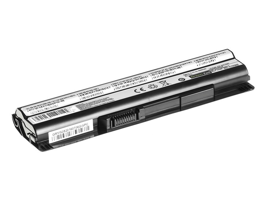 Green Cell Battery for MSI CR650 CX650 FX600 GE60 GE70 (black) / 11,1V 4400mAh