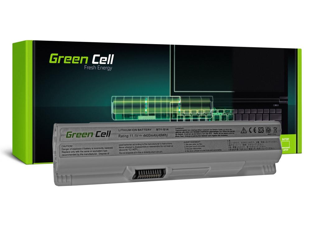 Green Cell akkumulátor MSI CR650 CX650 FX600 GE60 GE70 (fehér) / 11,1V 4400mAh