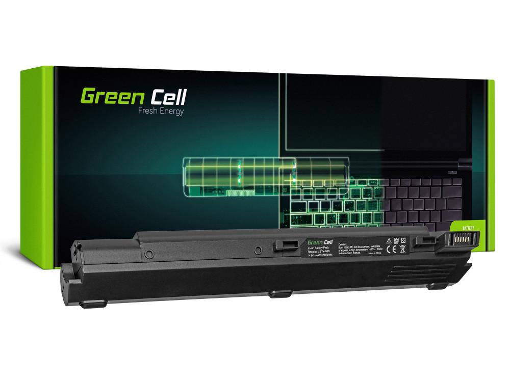 Green Cell akkumulátor MSI MegaBook S310 Átlagos 2100 / 14,4V 4400mAh